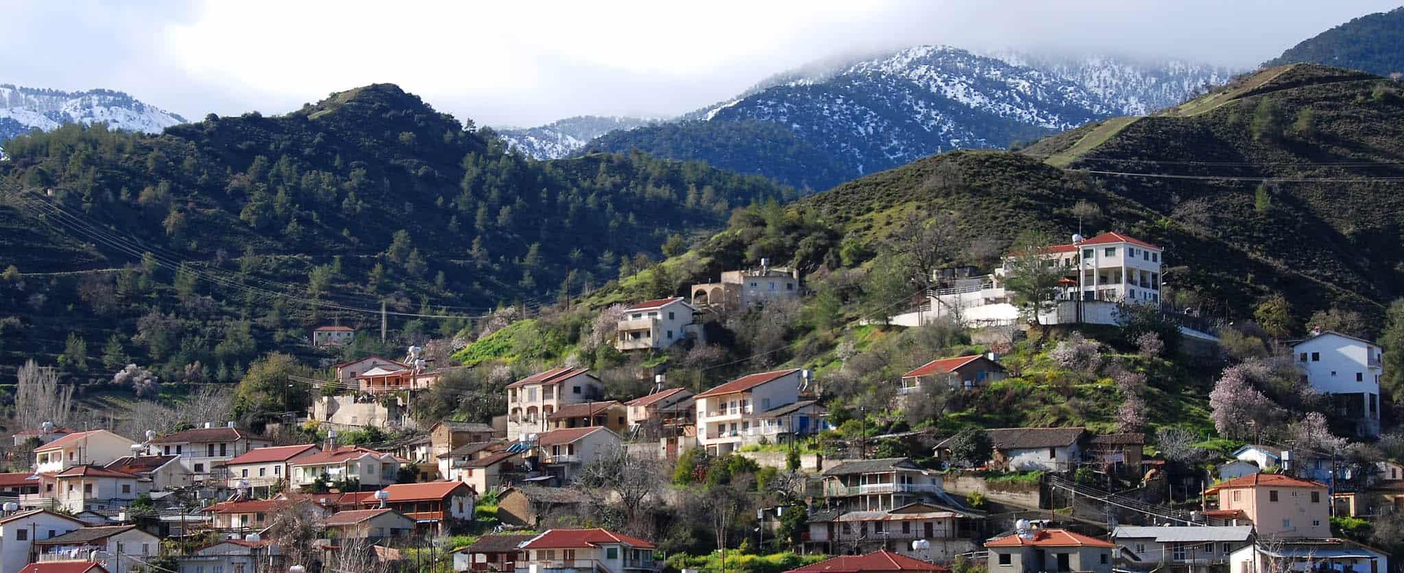 Кипр Горы Троодос