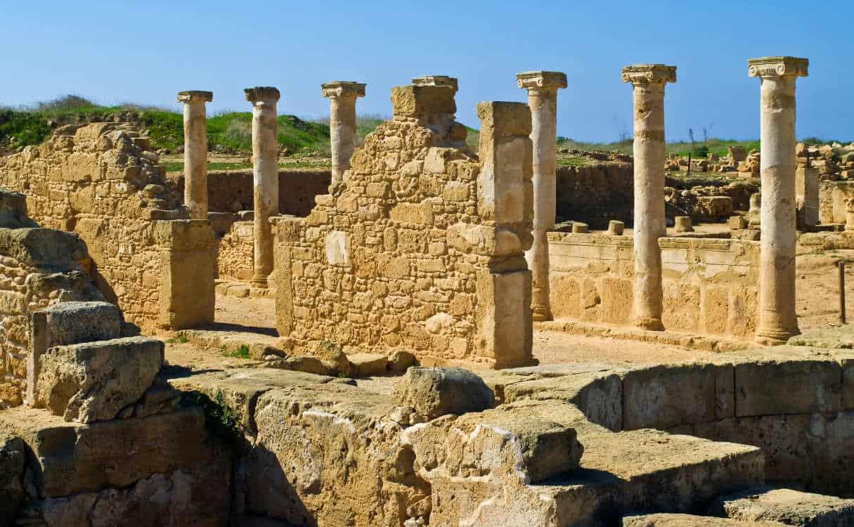 пафос кипр руины